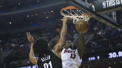 La fiesta de la NBA en la Ciudad de México culmina con triunfo del Heat sobre los Nets