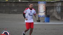 El 'Gullit' Peña ya está en Veracruz y entrenó con el Tiburón en El Puerto