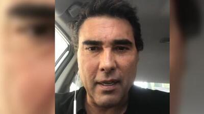 Eduardo Yañez pide ayuda para recuperar unos documentos que perdió aunque espera no tener que dar recompensa