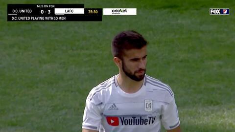 El uruguayo Diego Rossi firma un Hat-trick y LAFC humilla 4-0 a DC United