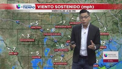 Se prevén cielos ligeramente nublados en el centro de Texas este miércoles