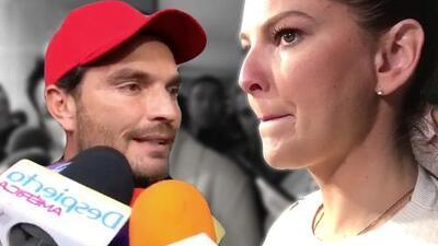 """Marjorie de Sousa a Julián Gil: """"Las cosas se dicen de frente"""""""