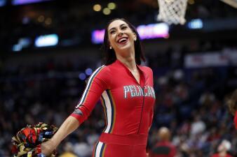 En la NBA las animadoras entregan su mejor rendimiento en el baile