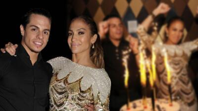 El día en que Jennifer Lopez y Casper Smart asistieron juntos a Premios Juventud