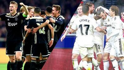 Ajax vs. Real Madrid: la 'cantera de Europa' contra la chequera más poderosa del mundo