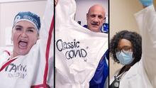 """""""The """"Healthcare Workers Rock"""": video de prestadores de servicios de la salud que luchan contra el coronavirus"""