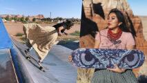 La skater indígena Navajo que toma el desierto de Arizona como su pista