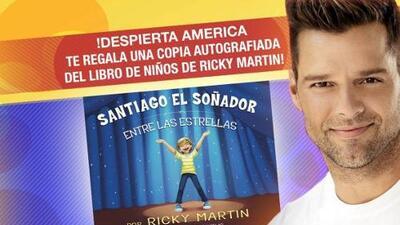 Participa con Despierta América y gana el libro autografiado de Ricky Martin