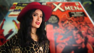 Salma Hayek podría entrar al mundo Marvel como heroína y sería la primera mexicana en hacerlo