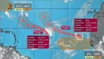 Vigilancia sobre una onda tropical procedente de África con potencial de tormenta