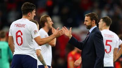 A Inglaterra siempre le va mal contra las selecciones grandes