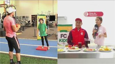 Fútbol Central Kids: la importancia del ejercicio y buena nutrición en los niños