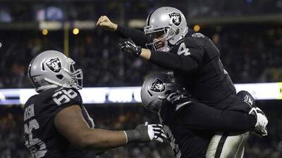 Feliz Navidad para los Raiders