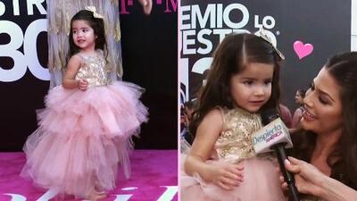 No eran dos, eran tres: Giulietta y el bebé de Ana Patricia desfilaron en su primera alfombra