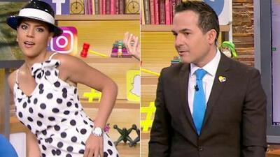 DAEnUnMinuto: Francisca se puso a bailar con este sombrero. Y Carlos prefiere no hablar de anillos de compromiso