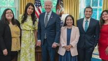 """""""La experiencia fue motivadora"""": dreamer sobre reunión de Biden con beneficiarios de DACA en la Casa Blanca"""