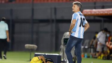 Dirigió Copa Libertadores con la camiseta de Diego Maradona