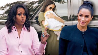 Comiendo tacos Meghan Markle le pidió una entrevista a Michelle Obama y sus respuestas fueron una lección de madre