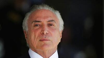 La Fiscalía de Brasil denunció formalmente al presidente Michel Temer por corrupción