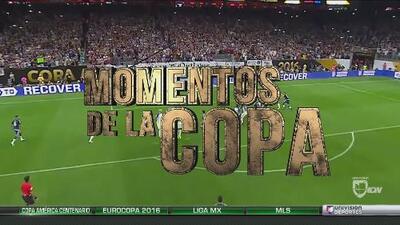 Momentos de la Copa: Lionel Messi y sus tres goles a Panamá