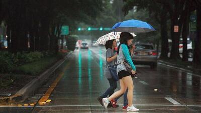 Las lluvias continuarán presentes durante la tarde de este miércoles en Miami