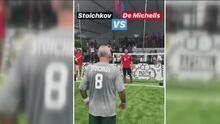 Hristo Stoichkov tuvo un particular duelo futbolístico con Martín Demichelis