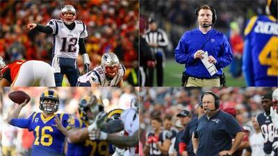 Rams vs Patriots: cuatro protagonistas del Super Bowl LIII con ganas de cambiar la historia