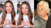 """""""¡No le hagan daño!"""": el ruego de Thalía al asilo donde está su abuelita"""