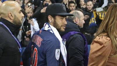 ¡De mal en peor! Neymar no jugará los próximos tres partidos de Champions por sanción