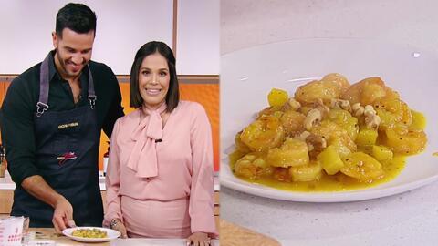 Termina la Semana Santa preparando esta deliciosa ensalada de camarones con piña de nuestro Chef Yisus