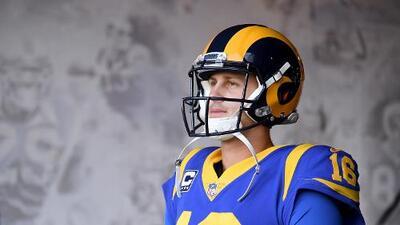 Jared Goff lamenta no poder jugar ante los fans de Rams en México