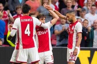 En fotos: la victoria del Ajax sobre el Heerenveen
