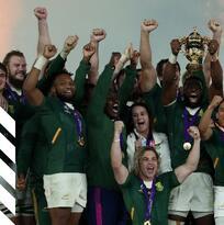 Sudáfrica supera a Inglaterra y conquista el Mundial de Rugby