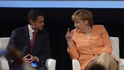 Analistas: Merkel visita México para mostrar poder político ante un Trump 'no fiable'