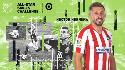 Héctor Herrera, João Félix y Koke desafiarán a las estrellas de la MLS en el All-Star Skills Challenge