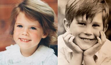A unos días de la boda real, muestran las fotos más tiernas de la princesa Eugenie de York y su prometido