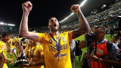 André-Pierre Gignac resaltó el trabajo de sus compañeros para lograr un nuevo título en Tigres