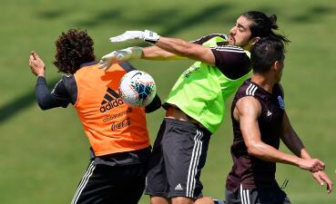 Con Moreno y Pizarro, el Tri ultimó detalles para enfrentar a Martinica