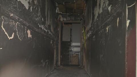 Familias afectadas por un incendio piden al complejo de apartamentos que les devuelvan el dinero del deposito