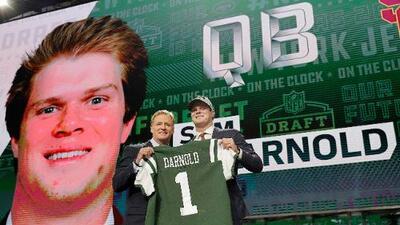 Sam Darnold es el quarterback elegido por los Jets para el futuro