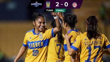 Tigres vence a Toluca pero les perdona una goleada de escándalo