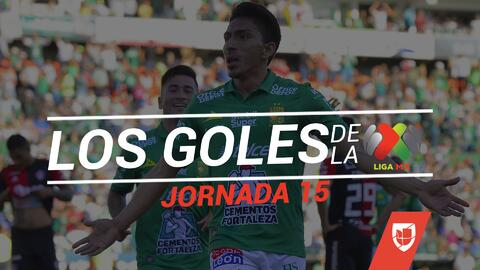 Revive los goles de la Jornada 15 del Clausura 2019