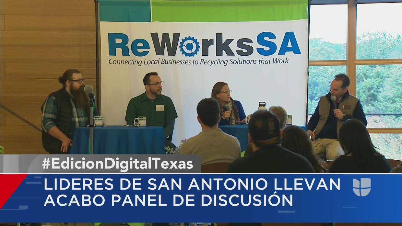 Líderes de San Antonio discuten plan de reciclaje comercial de la ciudad - Univision