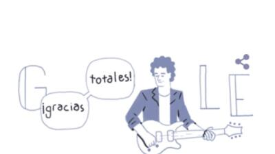 Google crea 'doodle' en honor a Gustavo Cerati