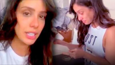 Aleyda Ortiz se bebe las lágrimas al recibir un regalo que la ayudó a recuperar la fe