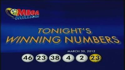 Revelan Números ganadores de la lotería Mega Millions en EU