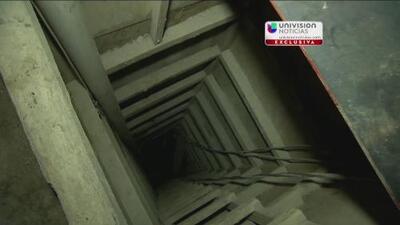 Exclusiva: Primer video del túnel por el que se fugó El Chapo