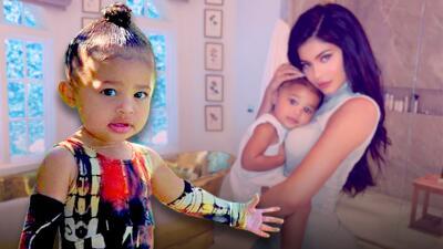 Ya su prima lo había hecho y ahora Stormi (hija de Kylie Jenner) entra al club de niñas protagonistas de portada
