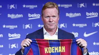 Ronald Koeman sabe que la llegada de Depay depende de las ventas