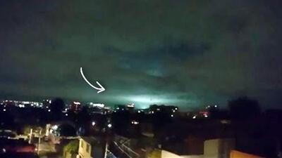 Misterio resuelto: qué provocó esas luces en el cielo durante el terremoto que sacudió a México